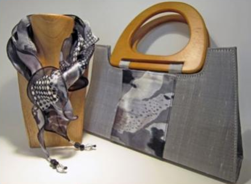 Handbags by Ishvari, graduate from the School of Stitched Textiles