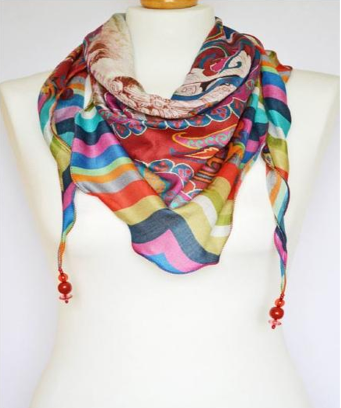 handcrafted scarves by renu modha