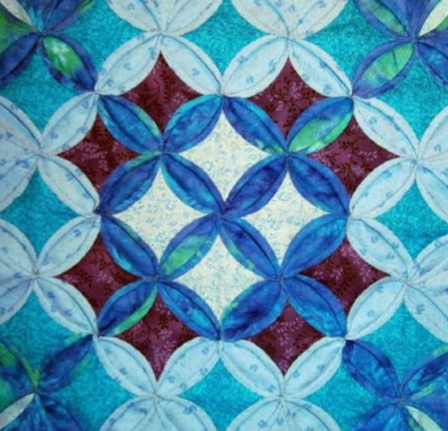 Developing own quilting designs with the School of Stitched Textiles