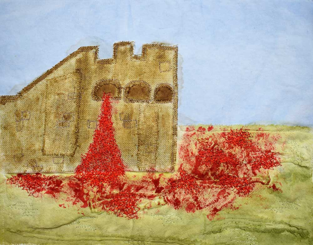 final project for Embroidery course by Emilia Padovan
