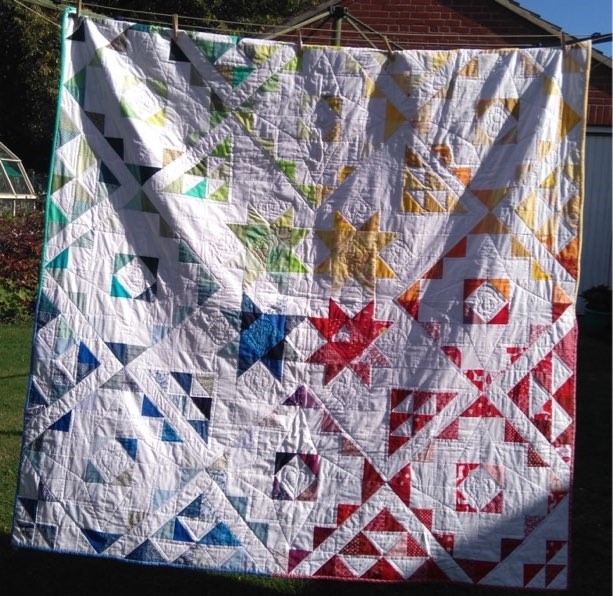 Patchwork and Quilting work produced of SST course