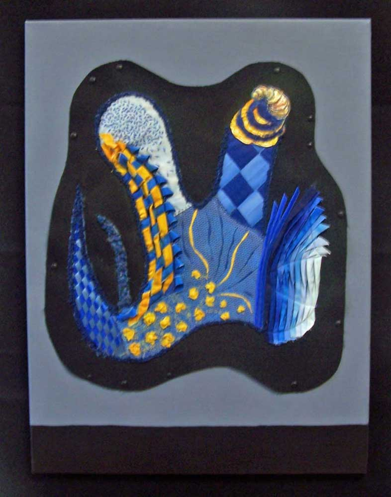 Blue Canvas by Christina Thomas SST Graduate