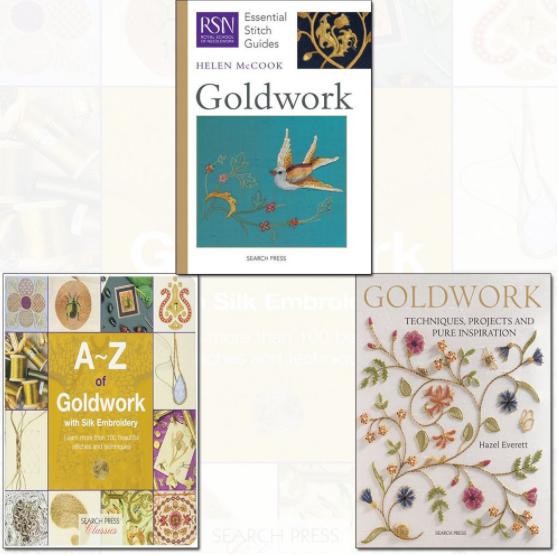 GoldWork book bundle