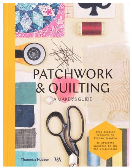 Patchwork and Quilting book front cover
