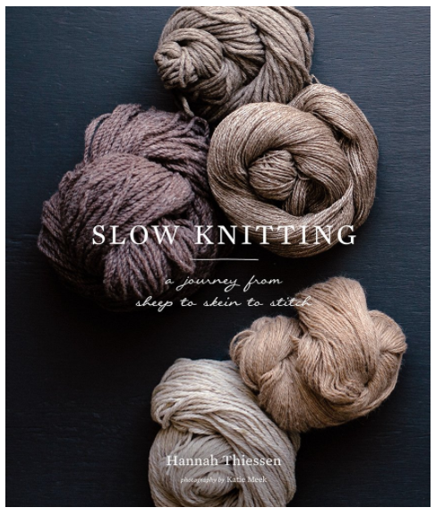 Slow knitting front cover