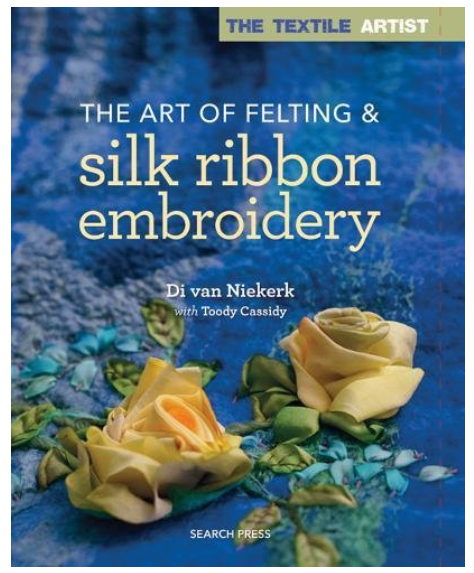 Silk Ribbon embroidery front cover