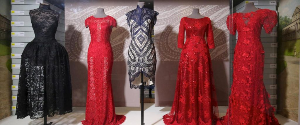 Lace in Fashion exhibition