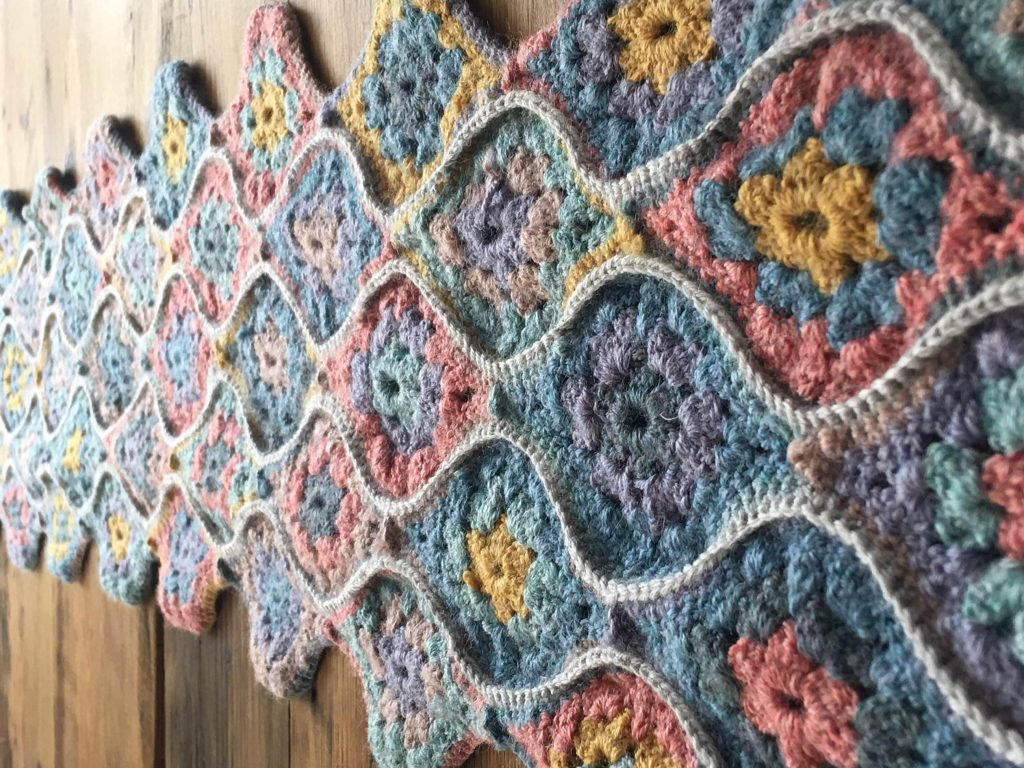 Crochet by Sally Hart, knitting and crochet tutor at the School of Stitched Textiles