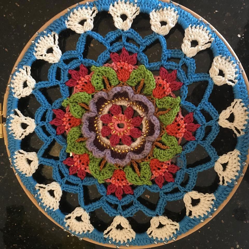 Crochet design by knitting tutor at the SST