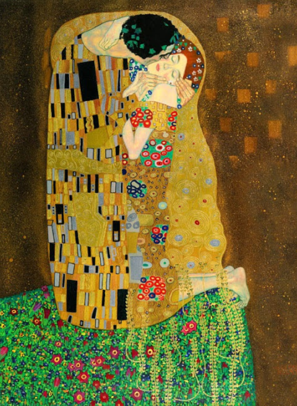 klimt was famous for studying the female form