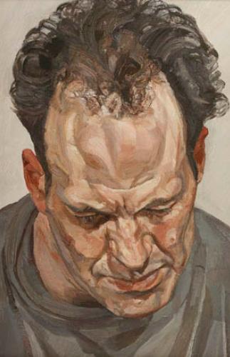 Lucian Freud paint as flesh
