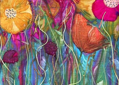 Michelle Mischkulnig experiments with beautiful vibrant colours