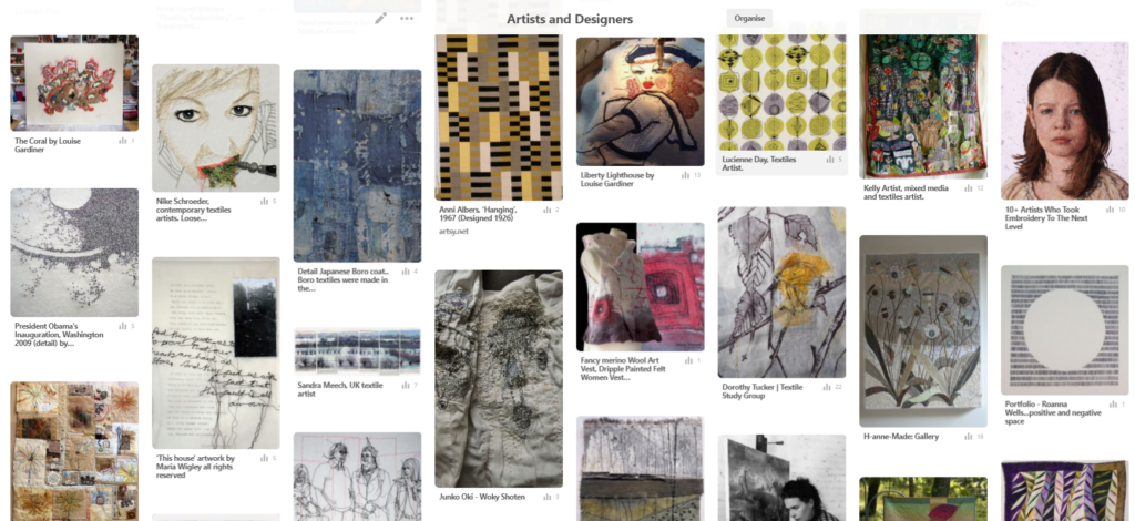 Researching Artists and Designers