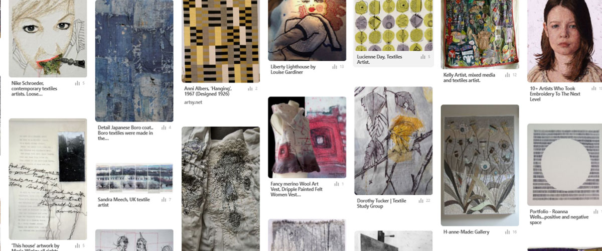Researching Artists and Designers for Your Textiles Course