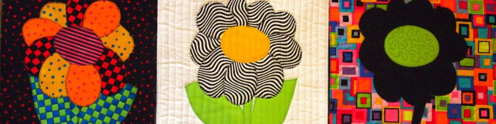 Examples of fro Patchwork and Quilting course