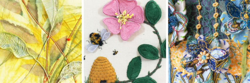 Embroidery courses for all abilities