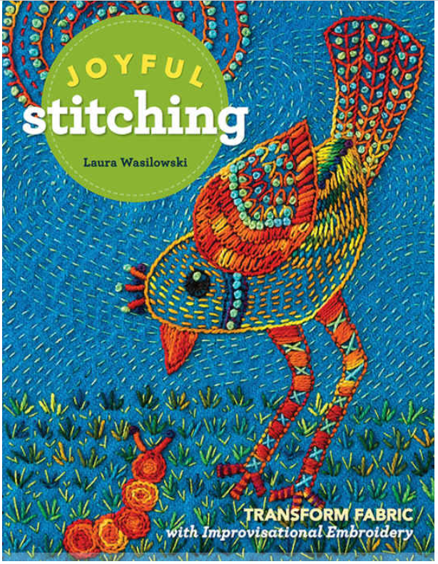 Joyful Stitching new book release recommended by SofST