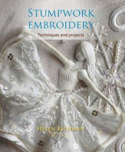 Stumpwork Embroidery book by Helen Richman