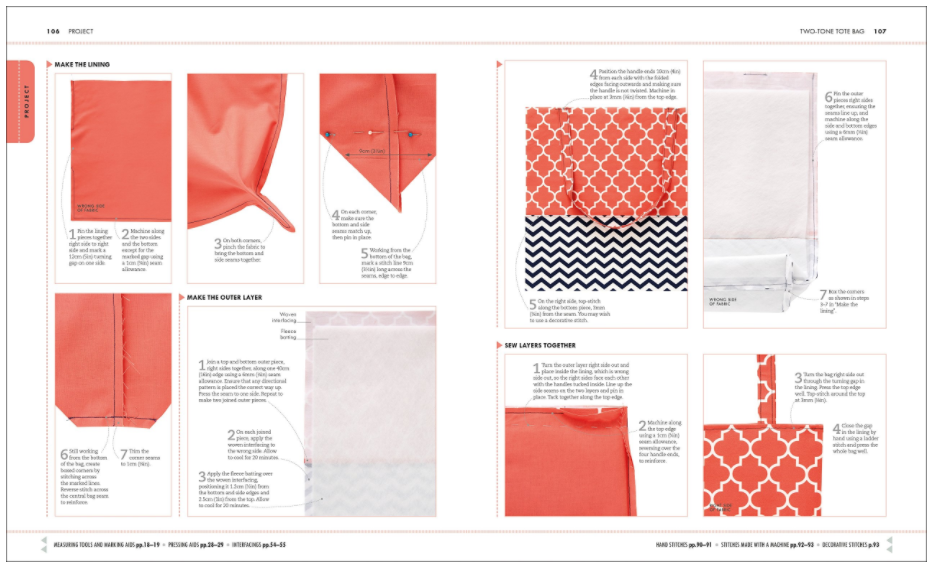 The Sewing Book inside preview