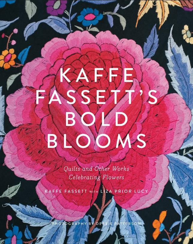 Bold Blossoms by Kaffe Fassett textiles artist.