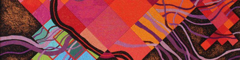 Victoria Potrovitza: Drawing With Threads