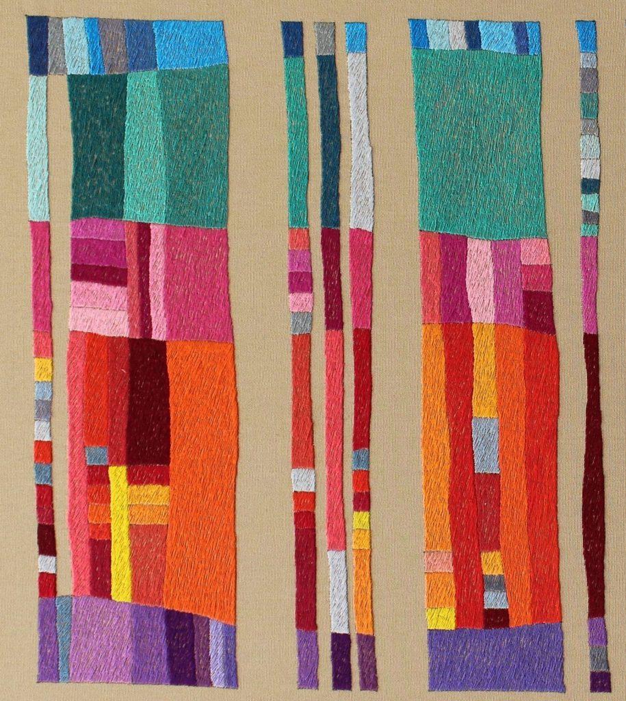 A study of colour by Victoria Potrovitza