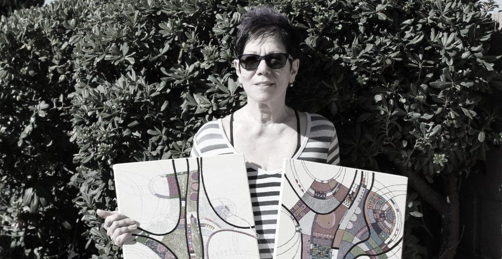 Victoria Potrovitza contemporary fibre artist speaks to School of Stitched Textiles