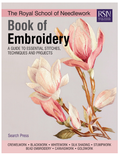 Book of embroidery by the Royal School of Needlework