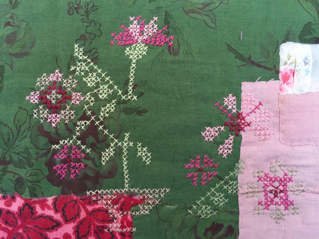 A take on cross stitched by Mandy Pattullo