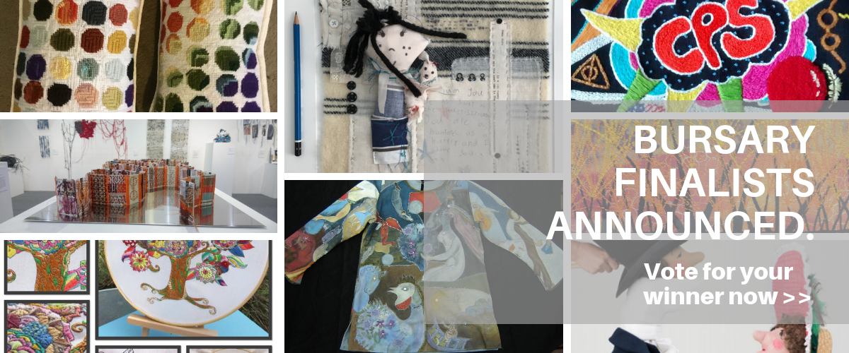 Bursary finalists announced at School of Stitched Textiles