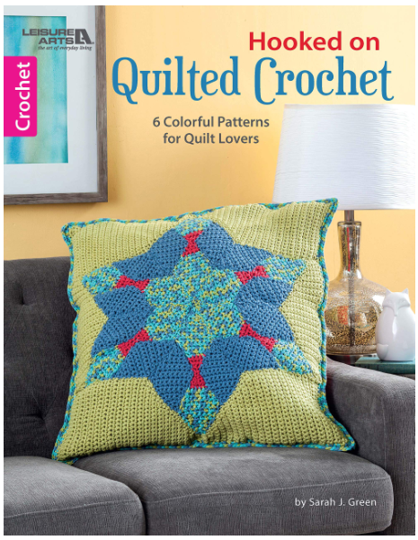 Hooked on Quilted Crochet Front Cover