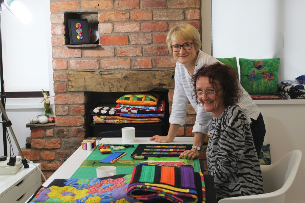 Tutors of our beginner patchwork & Quilting Course