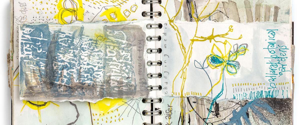 Shelley Rhodes – Exploring the World Through Sketchbook Journals
