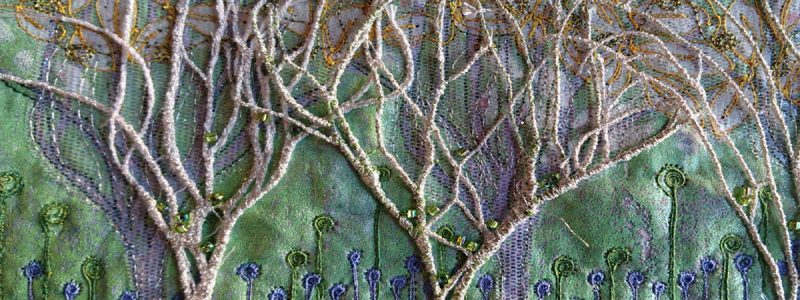Angie Hughes: Poetry in Stitch Motion