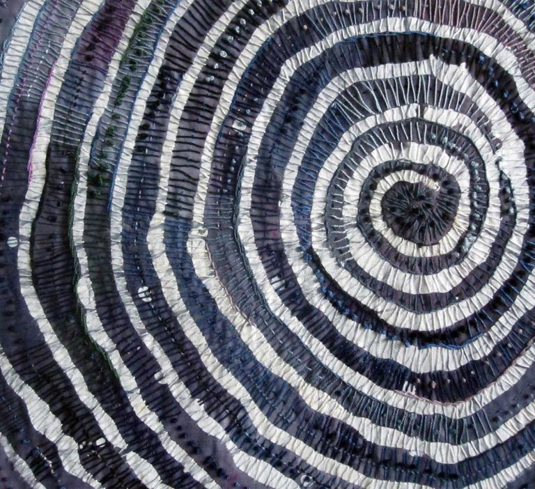 Detail from 'Energy Cloth' by Judy Martin