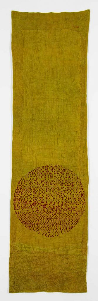 'Longing Cloth' (reverse), by Judy martin
