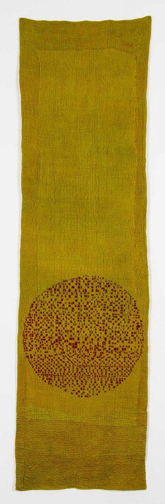 'Longing Cloth' (reverse), by Judy martin