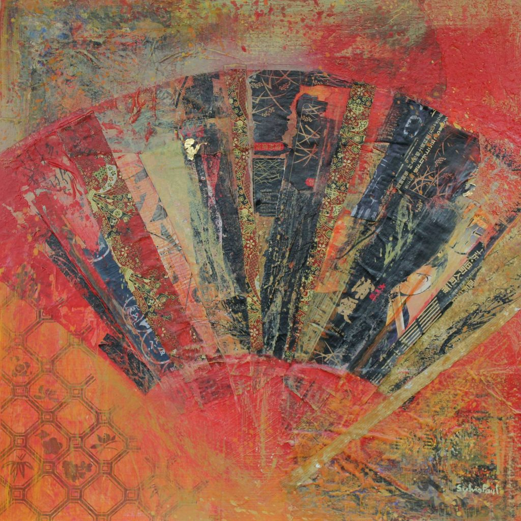 'Fantastic Collage' by Sylvia Paul