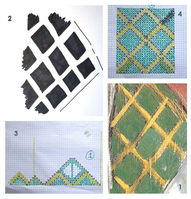 Amanda Jones crochet assessment piecec