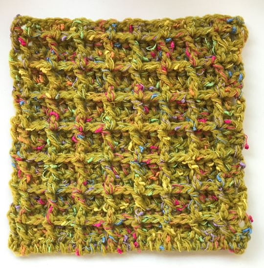 crochet assessment piece by Nyree Davis