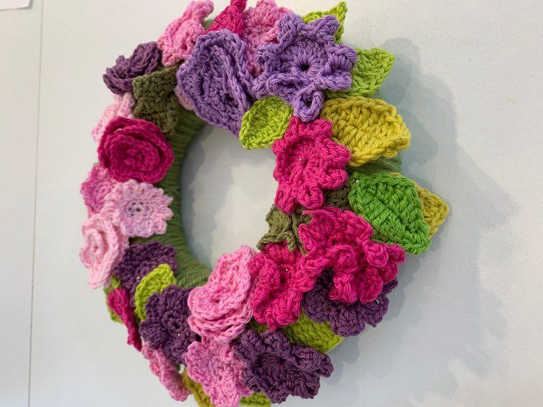 Example of work by Sally Hart, Crochet Tutor