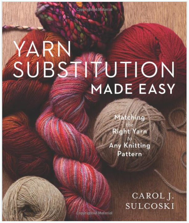 Yarn Substitution Made East Front cover