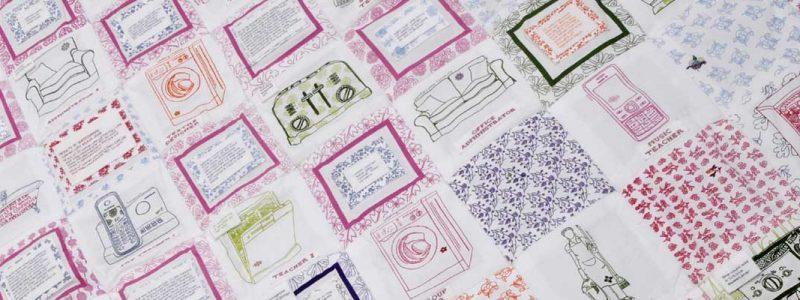 Caren Garfen: Putting the Text into Textiles