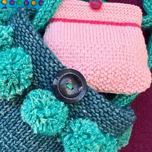 Beginner's online hand knitting course