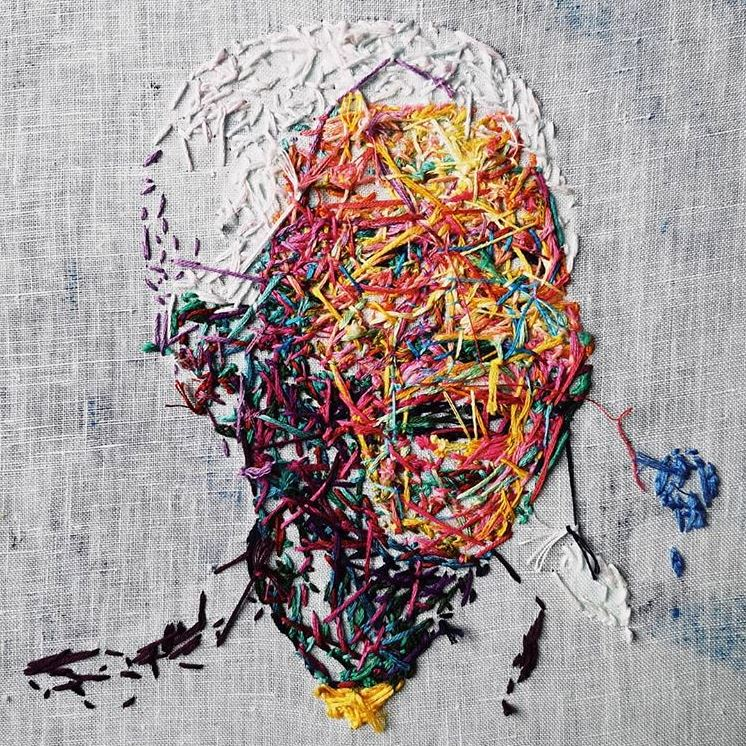 Danielle Clough hand embroidery artist