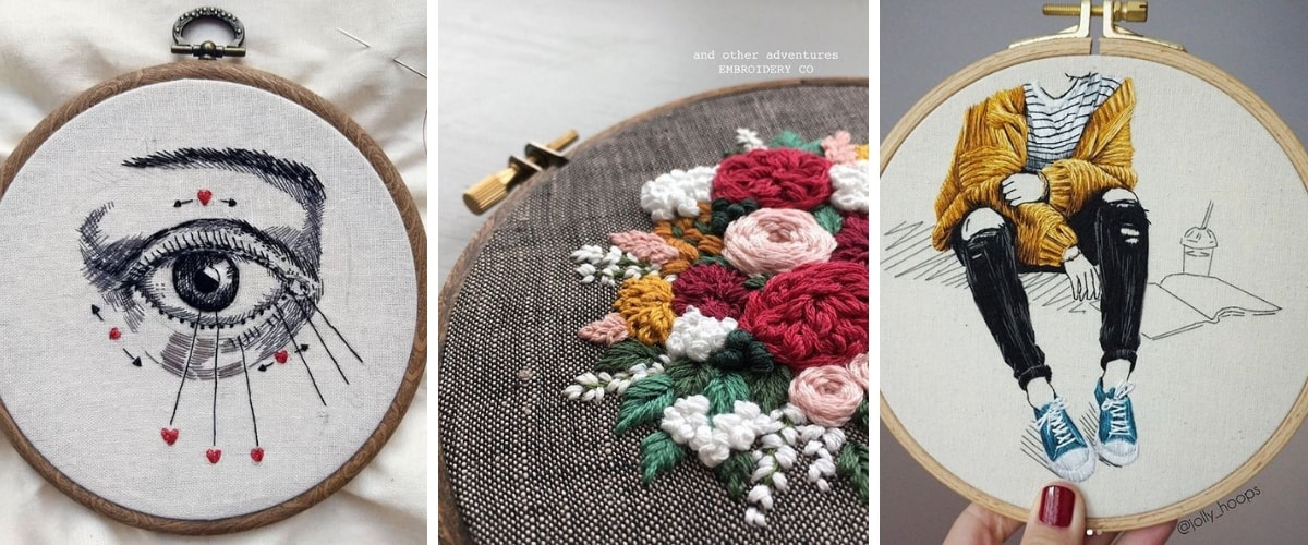 Hand Embroidery Artists you HAVE to Follow