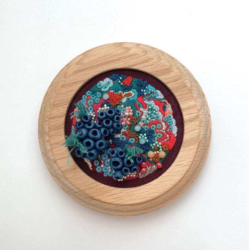 Jennifer Lamontagne embroidery