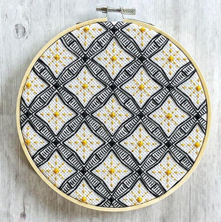 Jennifer Plott hand Embroidery