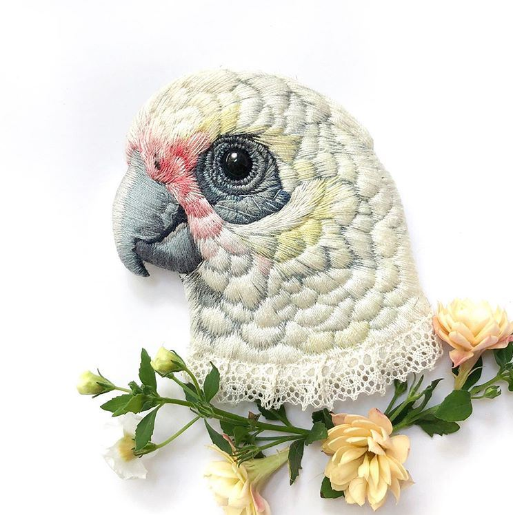 Paulina Bart hand embroidery