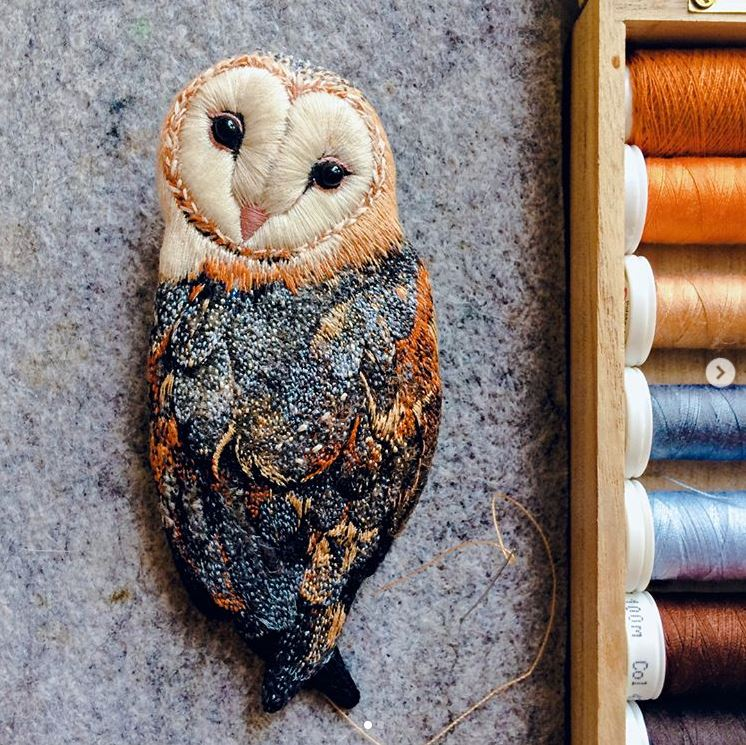 Paulina Bart embroidery